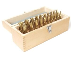 New 20 Pcs 4 2 Flute Hss Titanium Tin Coated Square End Mill Set 3 16 3 4