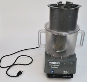 Waring Model Fp40 Commercial 4 Quart Blender With Jar Food Processor