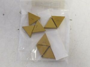 Lot Of 8 Tpg 431 V1n Carbide Indexable Insert New