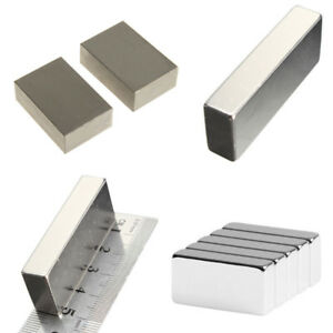 Wholesale Super Block Magnets All Big Size Rare Earth Neodymium N52 2 1 1 2