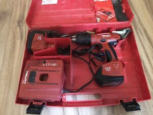 Hilti Sf 150 a Drill Driver Cordless Tool 2 Batteries Charger Works