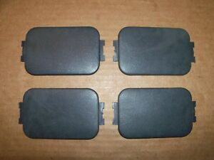 97 14 Ford F 150 F 250 F 350 Truck Bed Stake Pocket Covers Set Of Four Black