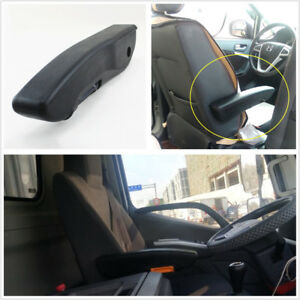 Universal Adjustable Pu Leather Black Car Truck Seat Armrest Console Box Right