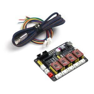 4 Axis Stepper Motor Driver Controller Laser Board For Diy Enthusiasts D7x7