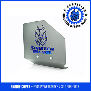 Engine Cover Sinister Diesel For 1999 2003 7 3l Powerstroke