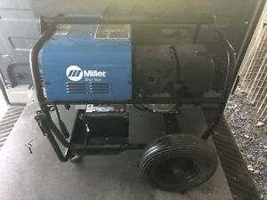 Miller Bluestar 6000 Welder Generator Stick Welder Excellent Condition 92 Hrs