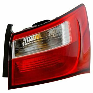 Outer Tail Light Lamp Assembly Rh Right Passenger Side For 12 17 Kia Rio New