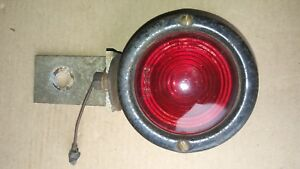 Red Taillights Turn Signal Brake Light Vintage Model A Ford