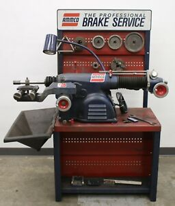 Ammco 4100 Heavy Duty Disc Drum Brake Lathe Loaded W Tooling Bench