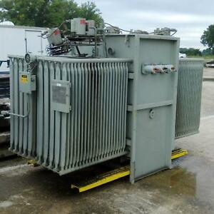 General Electric 3ph Class Oa fa 2500 3125 3500kva Transformer R 277681