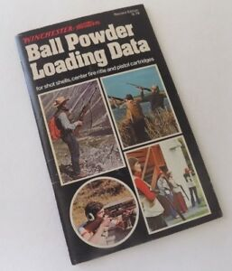 Winchester Ball Powder Loading Data 1978 Shot Shells Center Fire Rifle