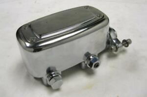 Chrome Master Cylinder W Built in Proportioning Metering Valve 1 1 8 Bore
