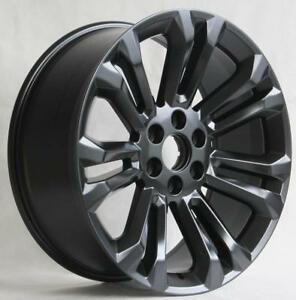 22 Wheels For Cadillac Escalade Esv Ext 6x139 7