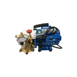 New 400w 110v Electric Pressure Test Pump Plumbing Heating 6mpa