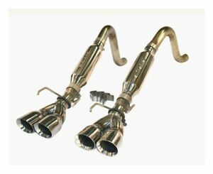 Slp Performance Loudmouth Ii Cat back Exhaust System 05 08 Corvette C6 31078