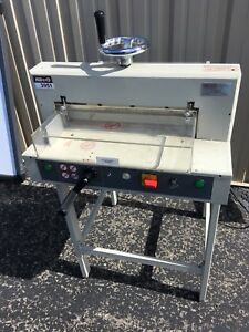 Kw trio 3951 Automatic 16 9 Electric 400 Sheet Paper Cutter Guillotine Trimmer