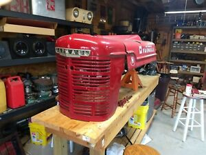 1950 Farmall H Hv Tractor Original Front Nose Grill Hood Rat Rod International