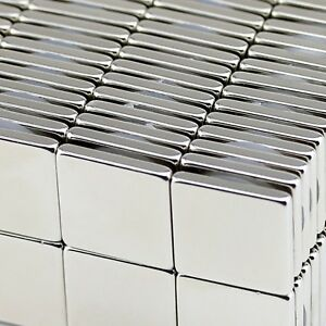 Lot 10 25 50 Super Block Magnets 3 4 x3 4 x1 8 Inch Rare Earth Neodymium N50