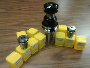 Bt40 er32 Floating Tap tapping Holder W 11 Inch Npt Tap Collets bt40 er32 t