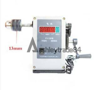 Fy 130 Electronic Manual Counting Winding Winder Machine 220v Modified 13mm