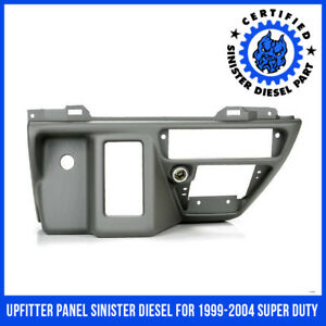 Upfitter Panel Sinister Diesel For 1999 2004 Super Duty