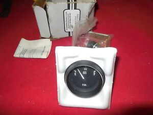 Nos Vintage Stewart Warner 2 1 8 Inch Fuel Level Gauge Day 2 Van Boat Hot Rod