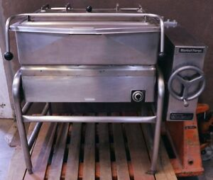 Market Forge 1030 Electric 30 Gal Tilt Skillet Gallon Braising Pan Tilting 208v