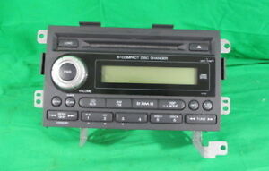 06 Honda Ridgeline Am Fm Aux 6 Disc Cd Player Radio Receiver Oem