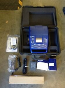 Brady Bmp71 Label Printer Label Maker With Accessories