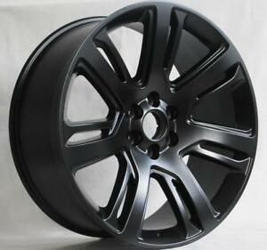 22 Wheels For Chevrolet Chevy Silverado Suburban Avalanche Tahoe 6x139 7
