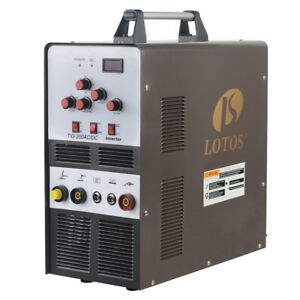 Tig stick Square Wave Inverter Ac dc Aluminum 200a Lotos Tig200 Welder Brand New