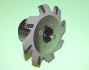 Iscar 125mm Indexable Slot Milling Cutter W Drive Shank sgsf 125 6 1 250k