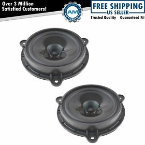 Oem 28156 zb000 Door Speaker Front Driver Passenger Side Pair Lh Rh For Nissan