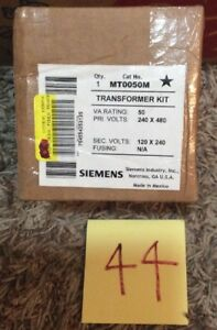 Siemens Mt0050m Series 2 Control Transformer