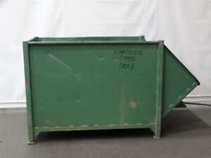 Dumpster 69 Cubic Ft Overall Dimensions 4 1 4 h X 4 w X 7 1 2 Color Varies
