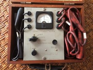 Antique James G Biddle Model 1 Phase Rotation And Motor Tester