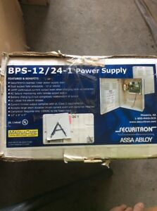 Securitron assa abloy bps 12 24 1 power supply New In Box