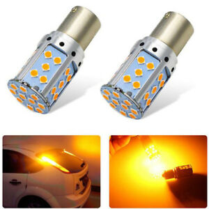 Wholesale Canbus Error Free Yellow 1156 P21w 3030 35smd Turn Signal Light Bulb