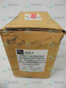 Sola 63 23 125 4 Constant Voltage Transformer New In Box