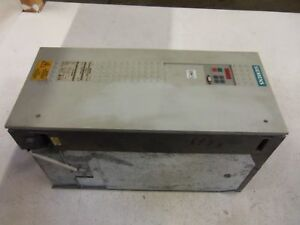 Siemens 6se7023 8ed61 z Ac Drive as Pictured Used