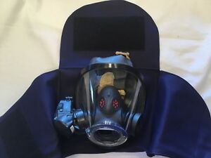 Firefighter Scba Mask Bag Face Piece Scott Flame Resistant Material