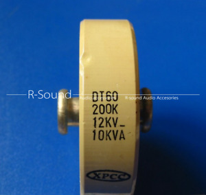 1pc Dt60 200k 12kv 10kva 200pf High Voltage Ceramic Capacitor