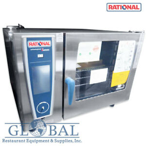 Rational Self Cooking Center Electric Oven Scc We 62 208v 3ph