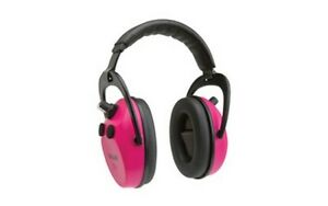 Allen 2232 Axion Electronic Pink Earmuffs Hearing Protection Shooting Ear Muffs