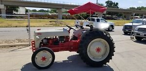 1951 Ford 8n Tractor With Pto