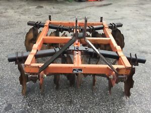 Nice Howse 16 Disc 3 Point Hitch Disc Harrow