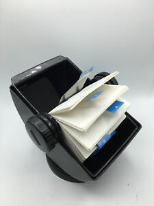 Rolodex Nsw 35c Covered Rotary Address File Card Holder Holds 3 X 5 Cards