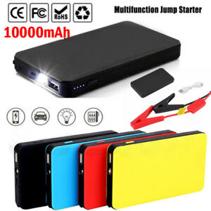 Portable Car Jump Starter 12v 10000mah Auto Battery Booster Charger Power Bank U