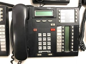 Nortel Norstar Office Phone System With 6 Sets Plus Extras