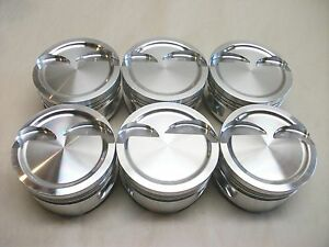 Ross Custom Forged 4 3l V6 Dish Piston Set 4 060x3 55x5 7x1 535ch